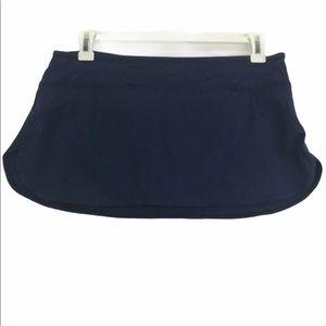 Jag Blue Swim Skirt